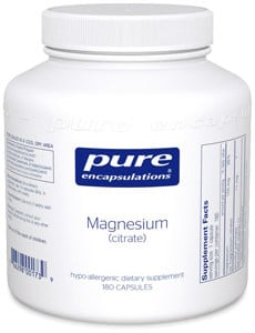 Magnesium Deficiency Symptoms-Magnesium Citrate