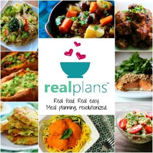 Real Plans Food Meal Planning