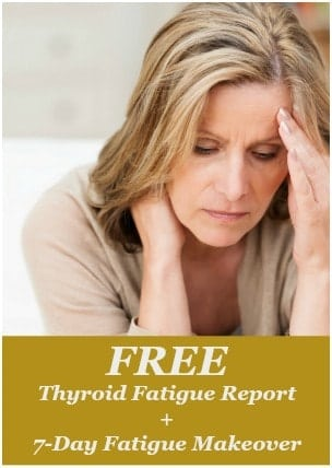 Thyroid Fatigue Report Guide Cover