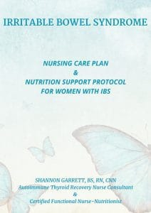 eBook Cover Irritable Bowel Syndrome Care Plan