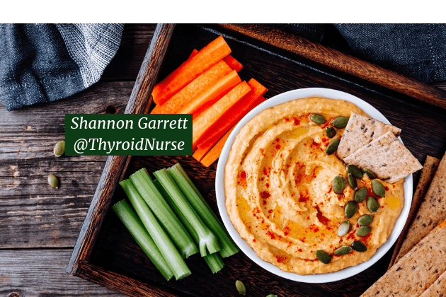 Butternut Squash Hummus with seed crackers, carrots & celery sticks #glutenfree