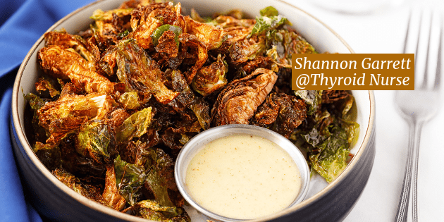 Crispy Brussels Sprouts with Dip