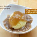 Mashed Parsnip & Vegan Miso Gravy