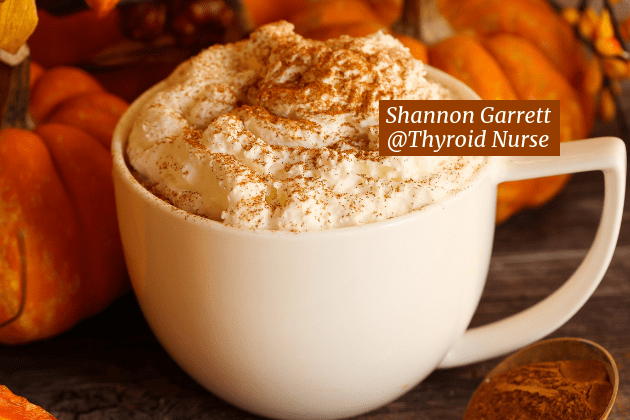 Check out how easy it is to make a healthy homemade pumpkin spice latte with coconut cream that's SO much better than Starbucks' sugary, high-fat version!  We love that its gluten & dairy free.  If you're a pumpkin lover, try a cup with our pumpkin pie tarts! @thyroidnurse #holisticthyroidcare #glutenfree #dairyfree