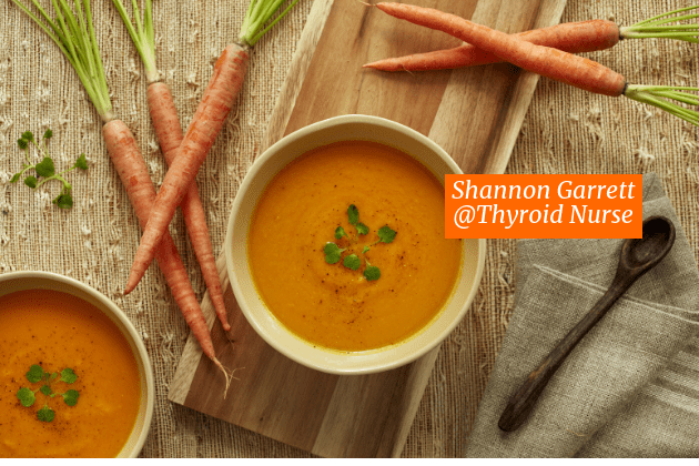 Roasted Carrot White Bean & Tahini Soup