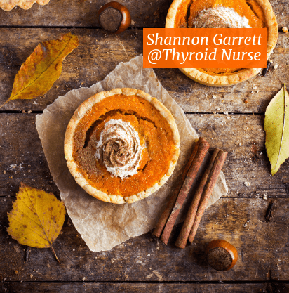 Looking for an #EasyDessert that's also #glutenfree?  Satisfy your sweet tooth for pumpkin with the cutest Pumpkin Pie Tarts with Coconut Cream!  Two bites of heaven and #guiltfree.  Enjoy them with a cup of our homemade Pumpkin Spice Latte @thyroidnurse @autoimmunern #holisticthyroidcare