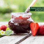 Strawberry Chia Jam in Mason Jar